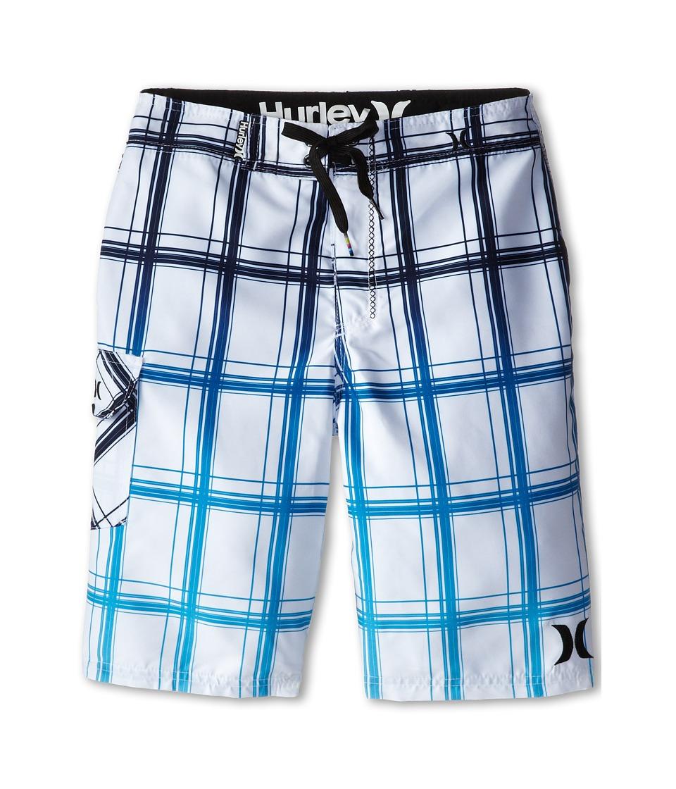 Hurley Kids - Puerto Rico Boardshorts (Big Kids) (White) Boy's Swimwear