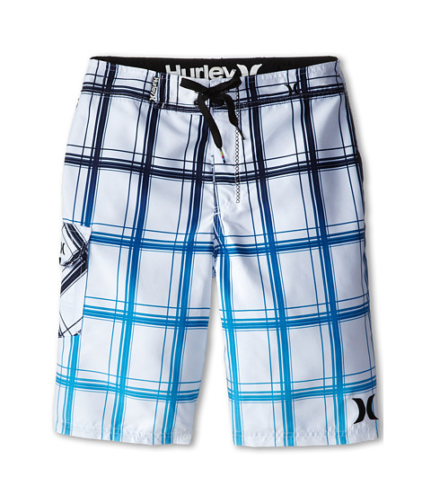 Hurley Kids - Puerto Rico Boardshorts (Big Kids) (White) Boy