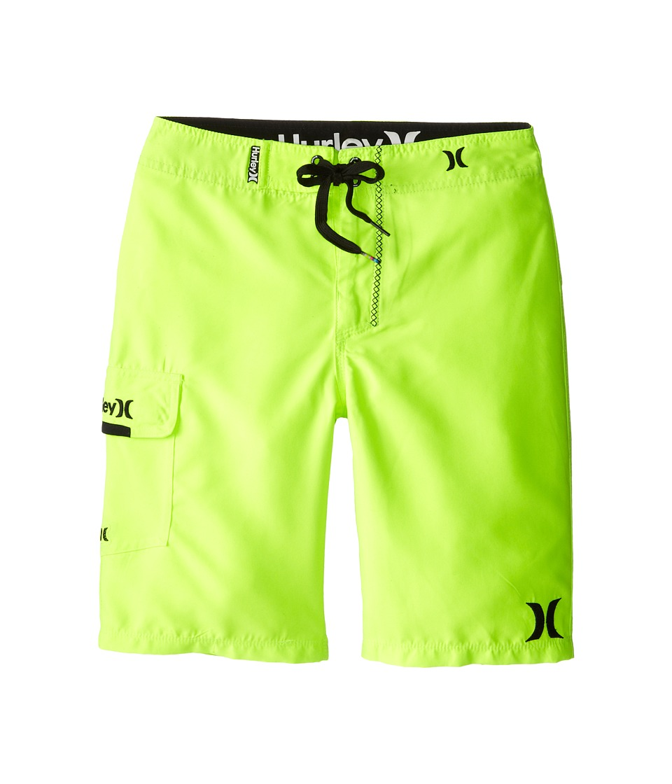 Hurley Kids - One and Only Boardshorts (Big Kids) (Volt) Boy's Swimwear