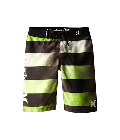 Hurley Kids - Technicolor Boardshorts (Big Kids) (Dark Green) Boy's Swimwear