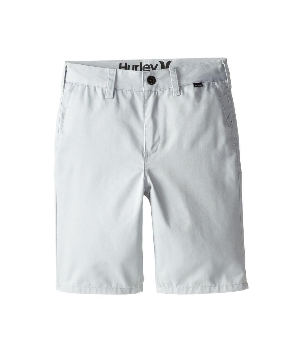 Hurley Kids - One Only Walkshorts (Big Kids) (Wolf Grey) Boy's Shorts