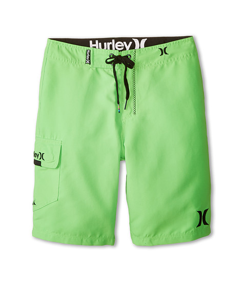 Hurley Kids - One and Only Boardshorts (Big Kids) (Neon Green) Boy's Swimwear