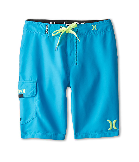 Hurley Kids - One and Only Boardshorts (Big Kids) (Cyan) Boy's Swimwear