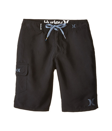 Hurley Kids - One and Only Boardshorts (Big Kids) (Black) Boy's Swimwear