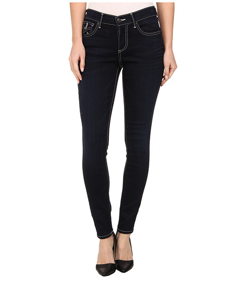 True Religion - Halle Mid Rise Super Skinny in Painful Love (Painful Love) Women