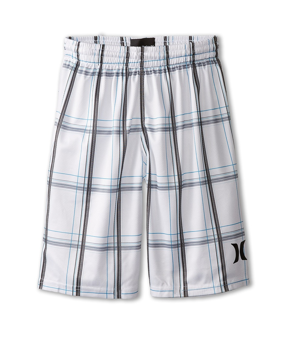 Hurley Kids - Puerto Rico Mesh Shorts (Big Kids) (White) Boy's Shorts