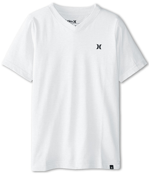 Hurley Kids - Staple Tee (Big Kids) (Sail) Boy