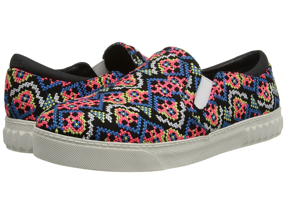 Circus by Sam Edelman - Celeste (Black/Neon Multi Embroidery) Women