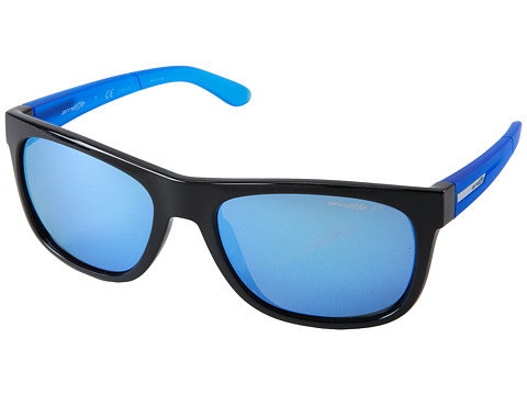 Arnette - Firedrill Lite (Gloss Black/Blue/Blue Polar) Fashion Sunglasses