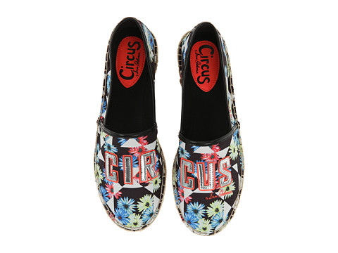 Circus by Sam Edelman - Leni (Neon Multi/Black/Soft Silver/Neon Coral) Women's Slippers