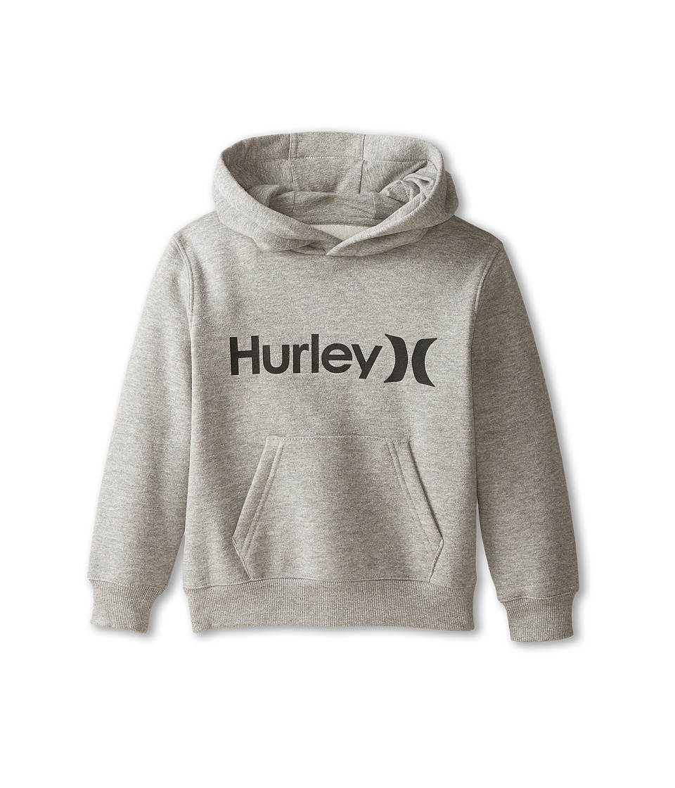 Hurley Kids - One Only Fleece Pullover (Little Kids) (Dark Grey Heather) Boy