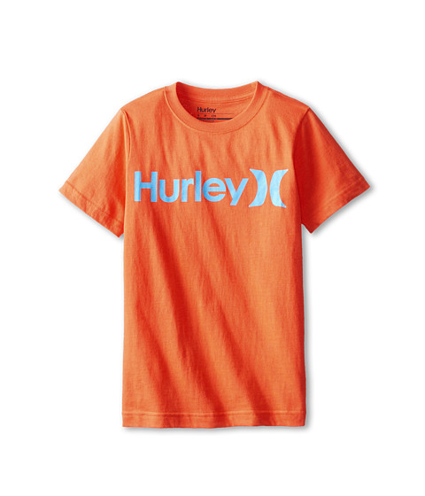 Hurley Kids - One Only Tee (Big Kids) (Bright Crimson) Boy's T Shirt