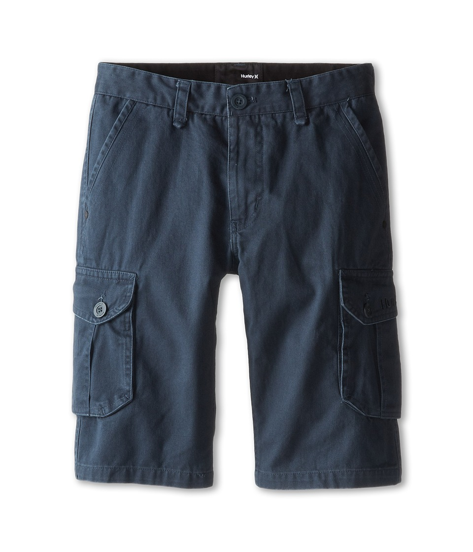 Hurley Kids - One Only Cargo Shorts (Big Kids) (Classic Charcoal) Boy's Shorts