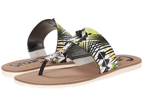 Circus by Sam Edelman - Saxon (Wild Lime/Black) Women's Sandals