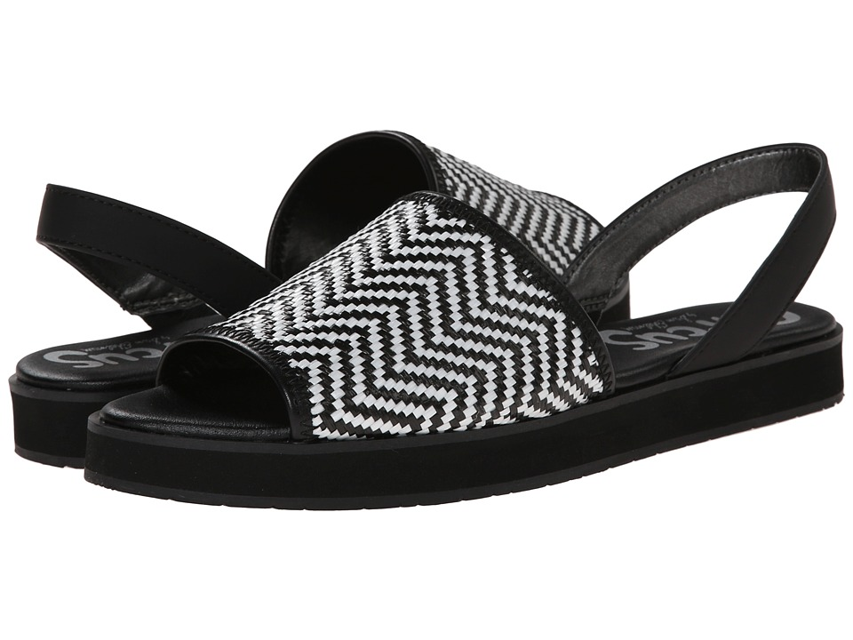 Circus by Sam Edelman - Wilson (Black/White/Black) Women's Sandals