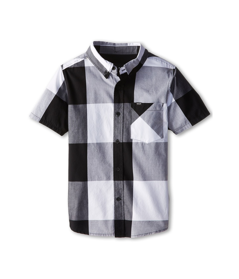 Hurley Kids - Surfers Only Short Sleeve Woven (Big Kids) (Black) Boy's Clothing