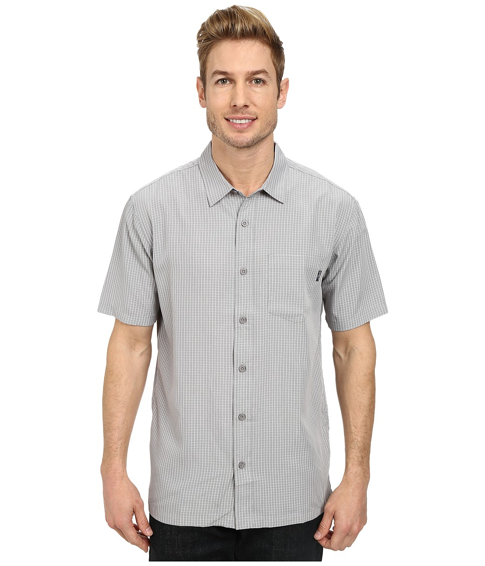 Jack O'Neill - Ford Wovens (Grey) Men's Short Sleeve Button Up