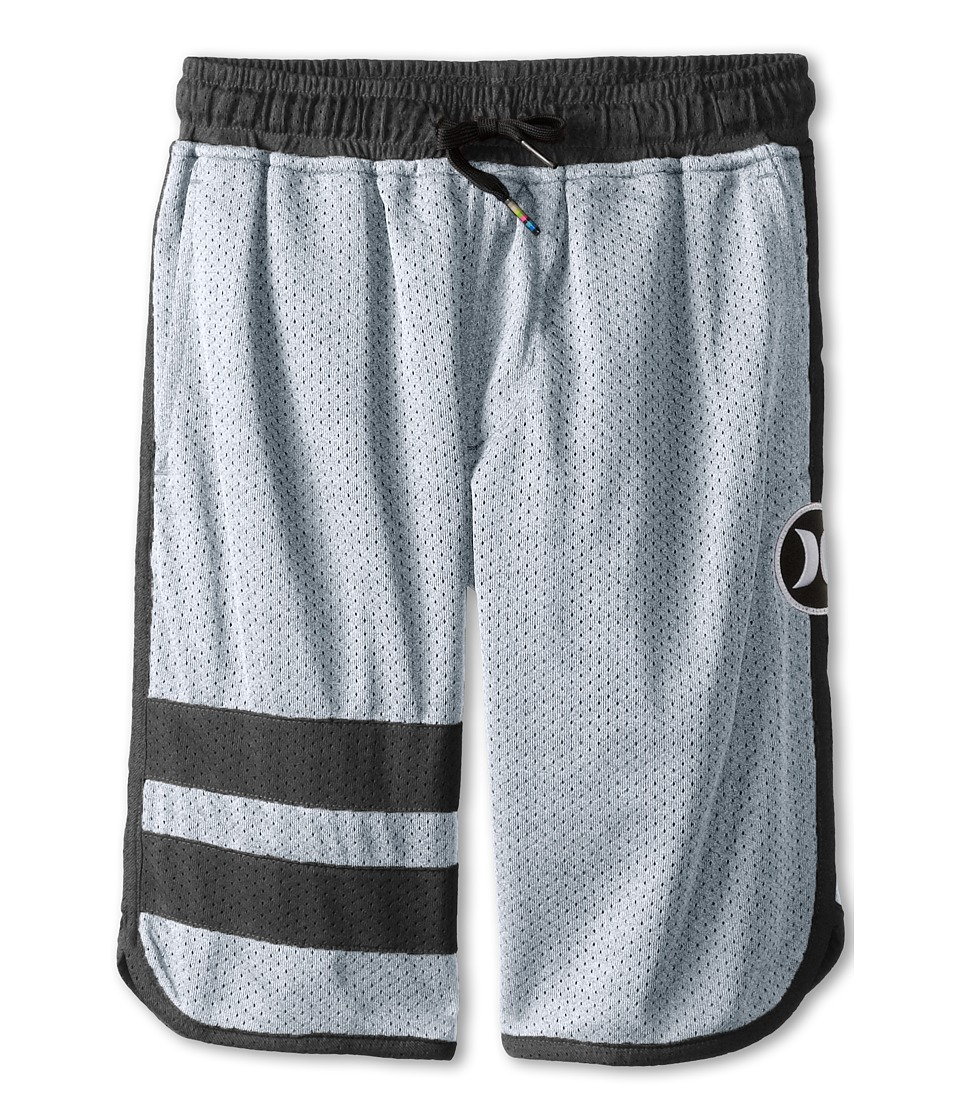 Hurley Kids - Block Part Mesh Shorts (Wolf Grey) Boy