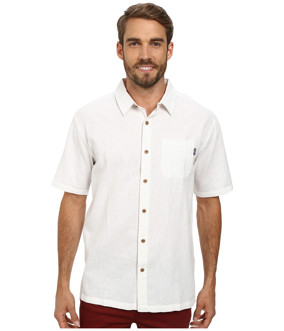 Jack O'Neill - Inlet Wovens (White) Men's Short Sleeve Knit