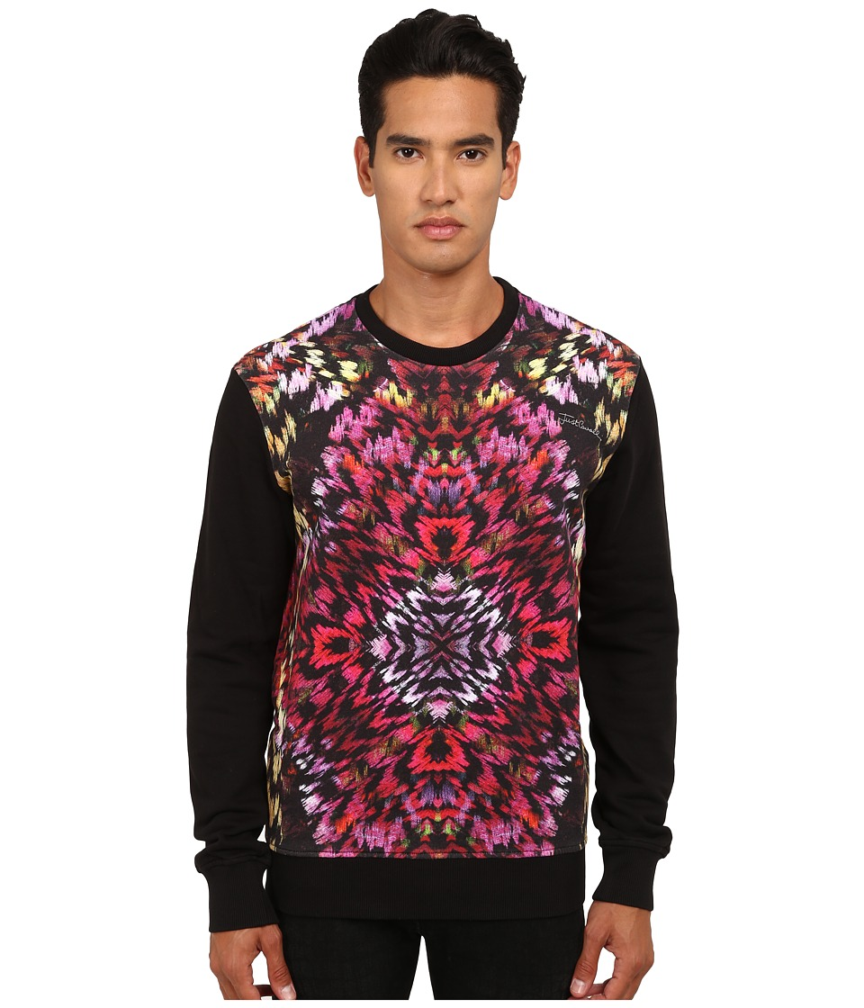 Just Cavalli - Long Sleeve Flaming Groovies Sweatshirt (Black Variant) Men