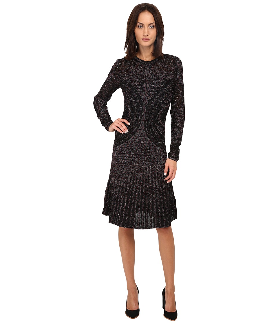 Just Cavalli Lurex Flare Dress