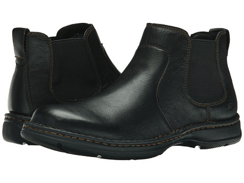 Born - Buck (Black Full Grain) Men's Pull-on Boots