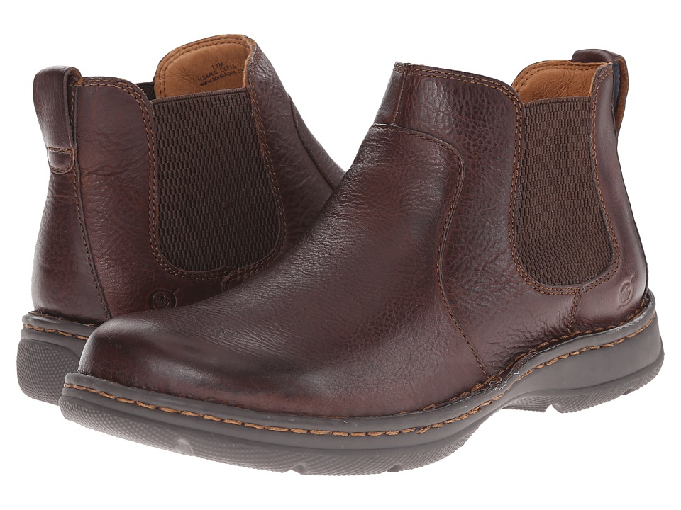Born - Buck (Mahogany (Brown) Full Grain) Men's Pull-on Boots