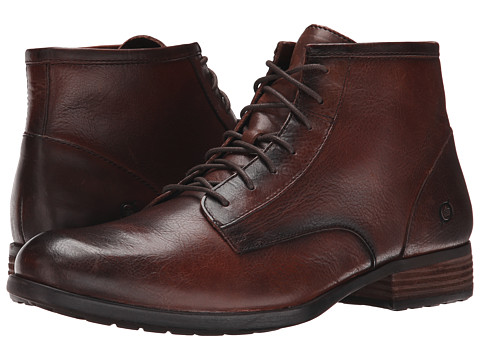 Born - Mercado (Cyvas (Tan) Full Grain) Men's Lace-up Boots