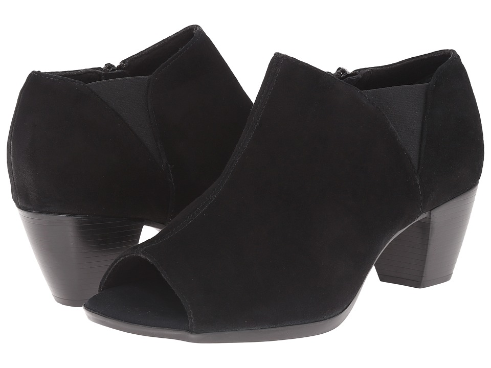 Munro - Eve (Black Suede) High Heels