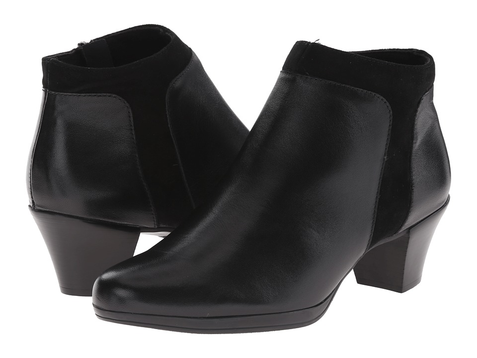 Munro - Hope (Black Leather/Suede) High Heels