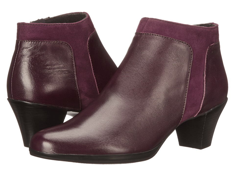 Munro - Hope (Wine Leather/Suede) High Heels