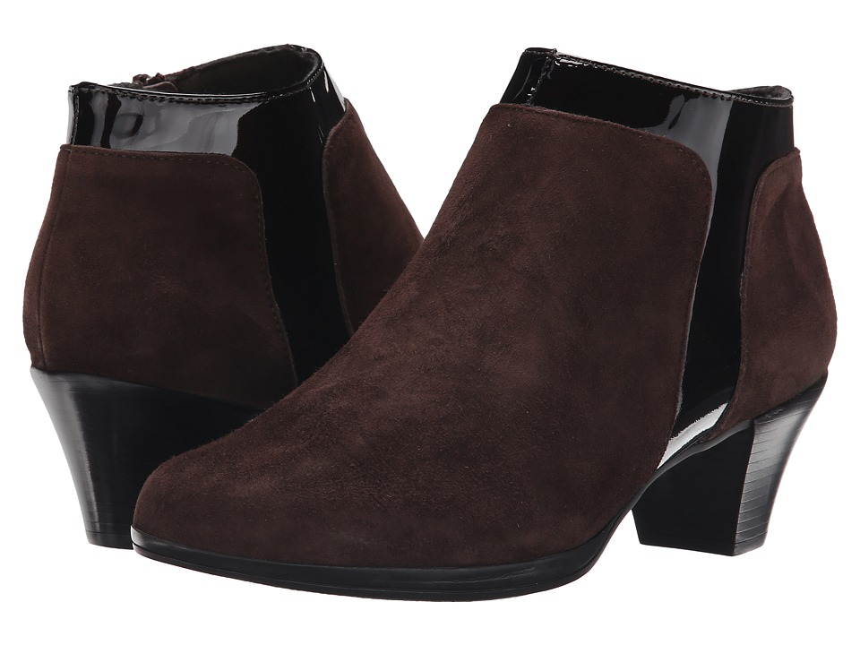 Munro - Hope (Chocolate Suede/Patent) High Heels
