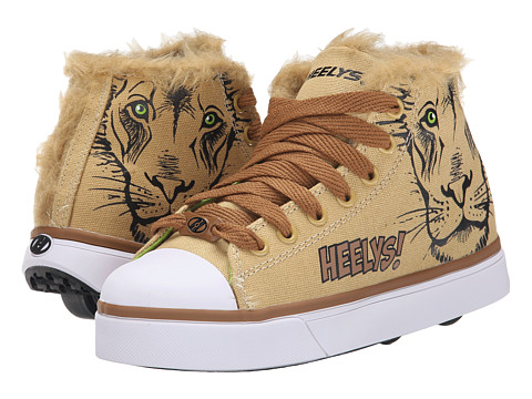 Heelys - Zoo Crew x2 (Little Kid/Big Kid/Adult) (Lion) Kids Shoes
