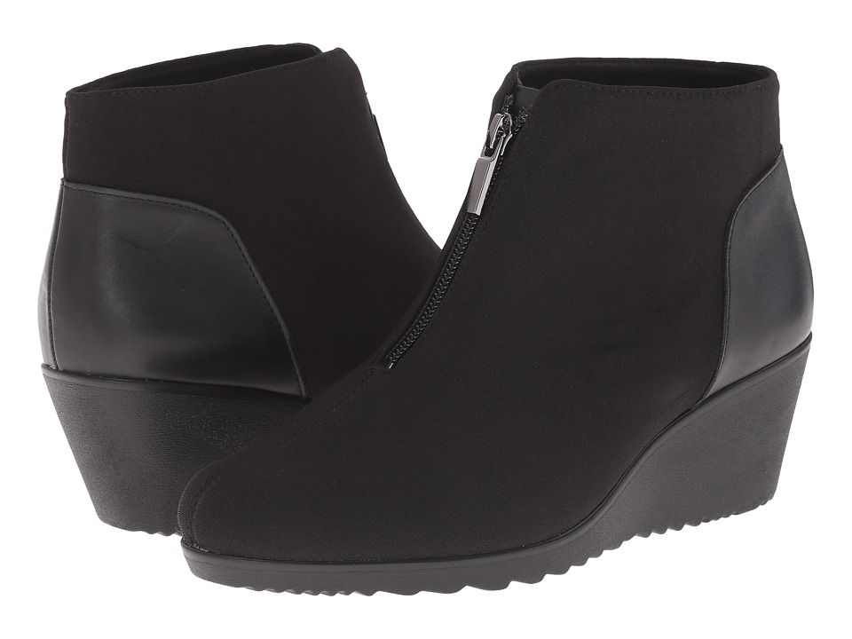Munro - Rachael (Black Fabric) Women's Boots