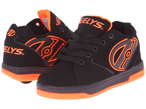 Heelys - Propel 2.0 (Little Kid/Big Kid/Adult) (Black/Orange) Boys Shoes