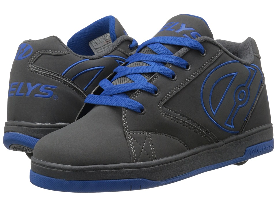 Heelys - Propel 2.0 (Grey/Royal) Boys Shoes