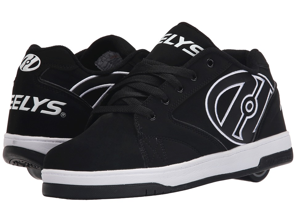 Heelys - Propel 2.0 (Black/White) Boys Shoes