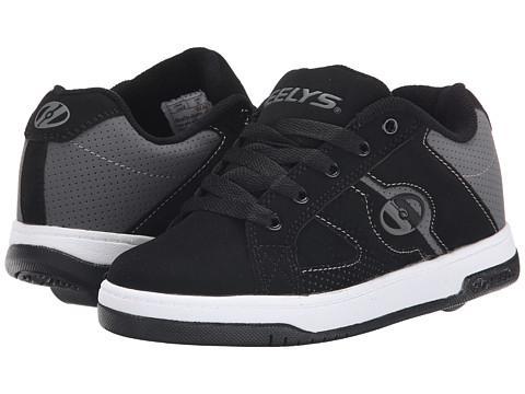 Heelys - Split (Little Kid/Big Kid/Adult) (Black/Grey) Boys Shoes