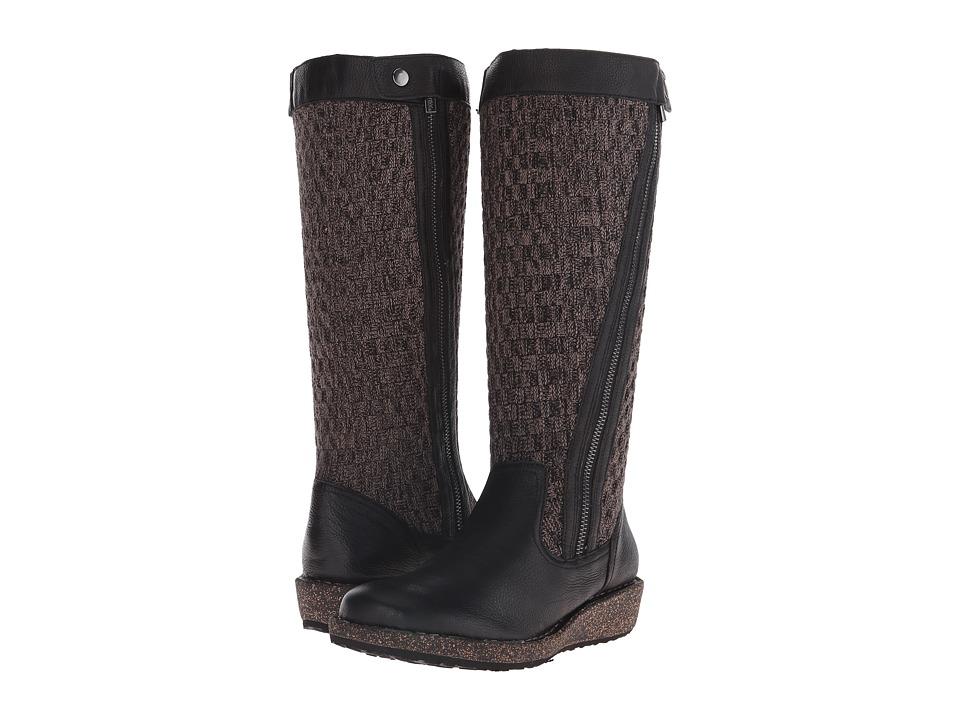 Aetrex - Sundance Amber (Black) Women's Zip Boots