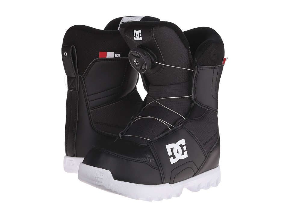 DC - Scout '16 (Little Kid/Big Kid) (Black) Men's Cold Weather Boots