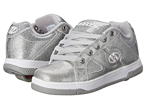 Heelys - Split (Little Kid/Big Kid/Adult) (Silver Glitter) Girls Shoes