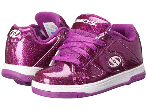 Heelys - Split (Little Kid/Big Kid/Adult) (Purple Glitter) Girls Shoes