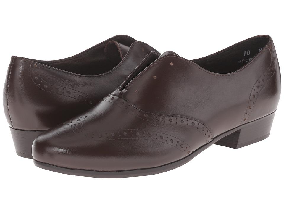 Munro Yale (Brown Leather) Women
