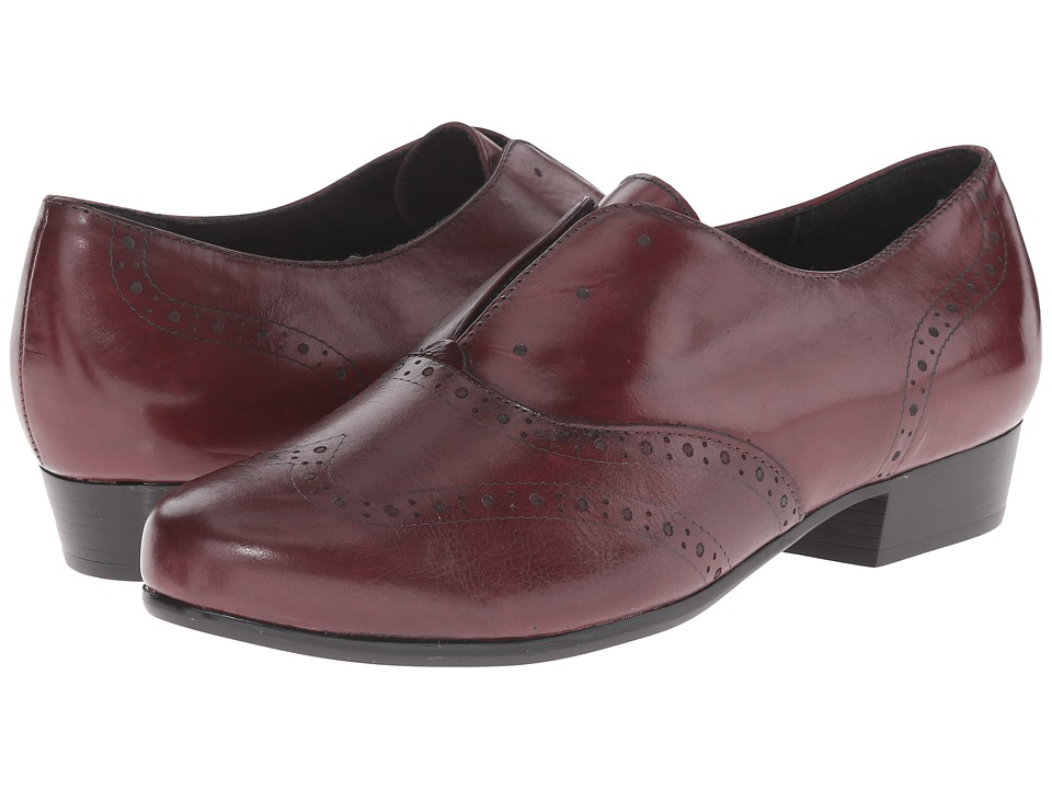 Munro American - Yale (Wine Leather) Women's Lace up casual Shoes