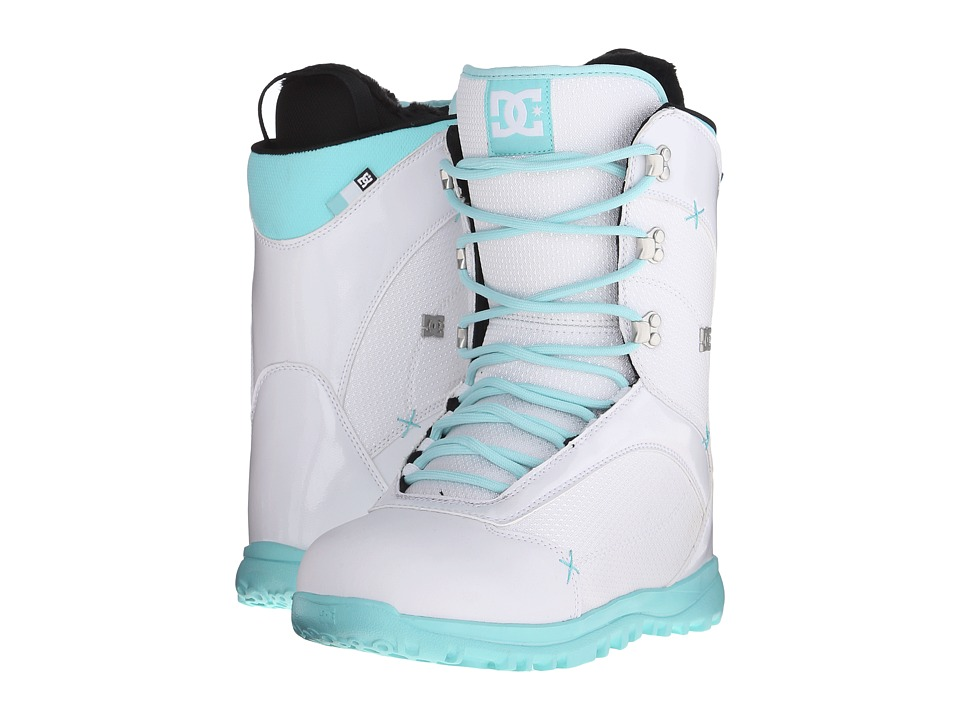 DC - Karma '16 (White/Green) Women's Snow Shoes