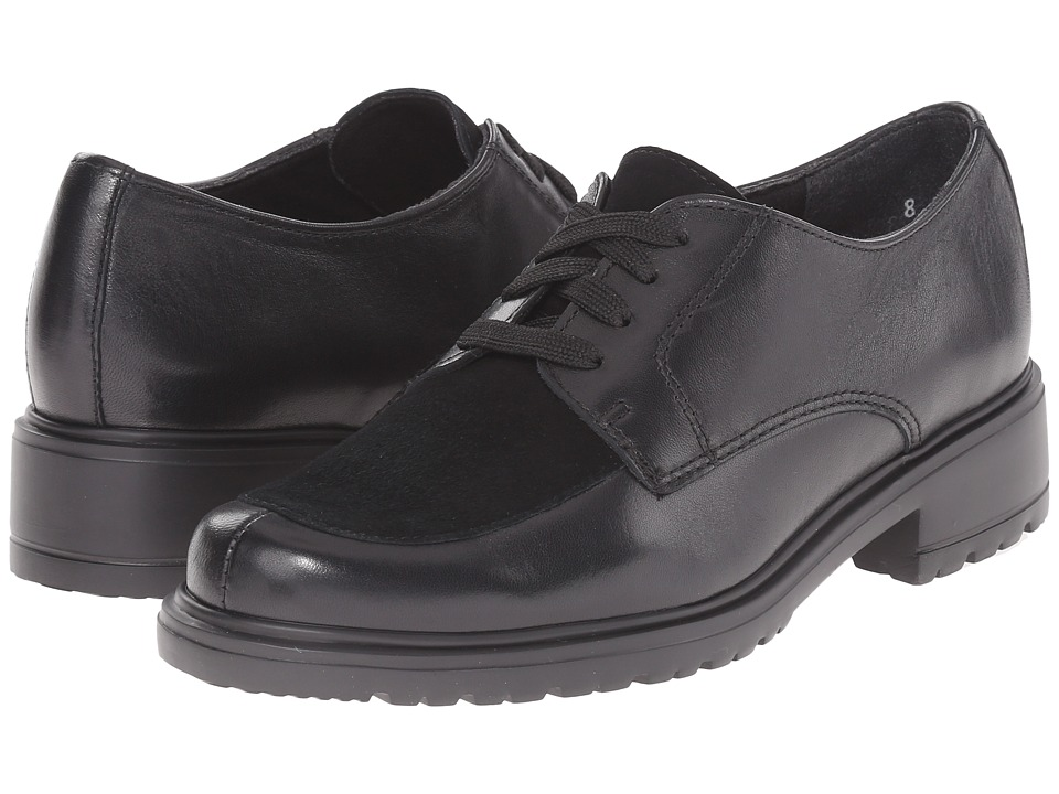 Munro - Veranda (Black Leather/Suede) Women's Lace up casual Shoes