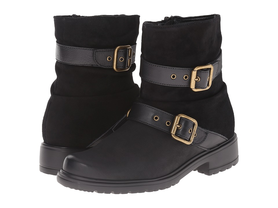 Munro - Dallas (Black Leather) Women's Pull-on Boots