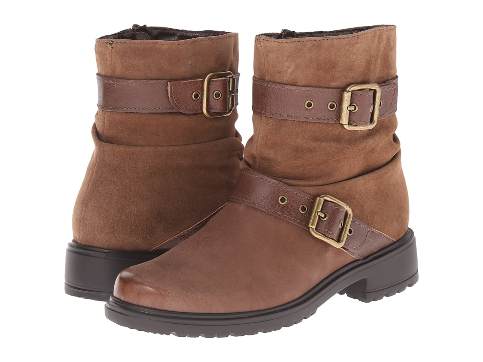 Munro - Dallas (Brown Leather) Women's Pull-on Boots