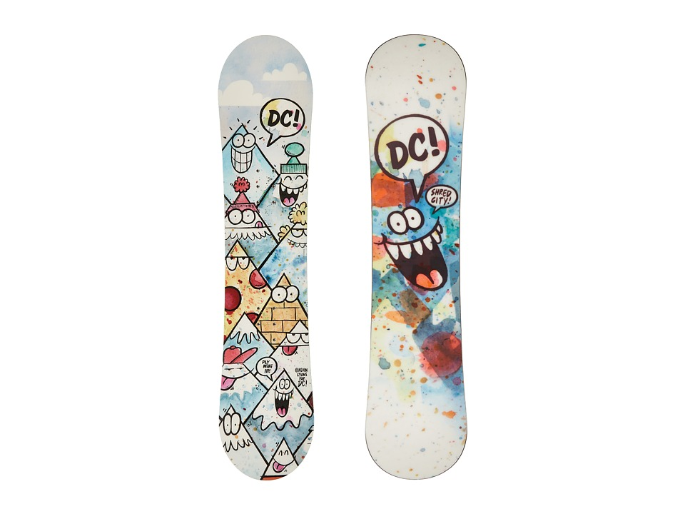 DC - Ply Mini '16 111cm (Multi) Snowboards Sports Equipment