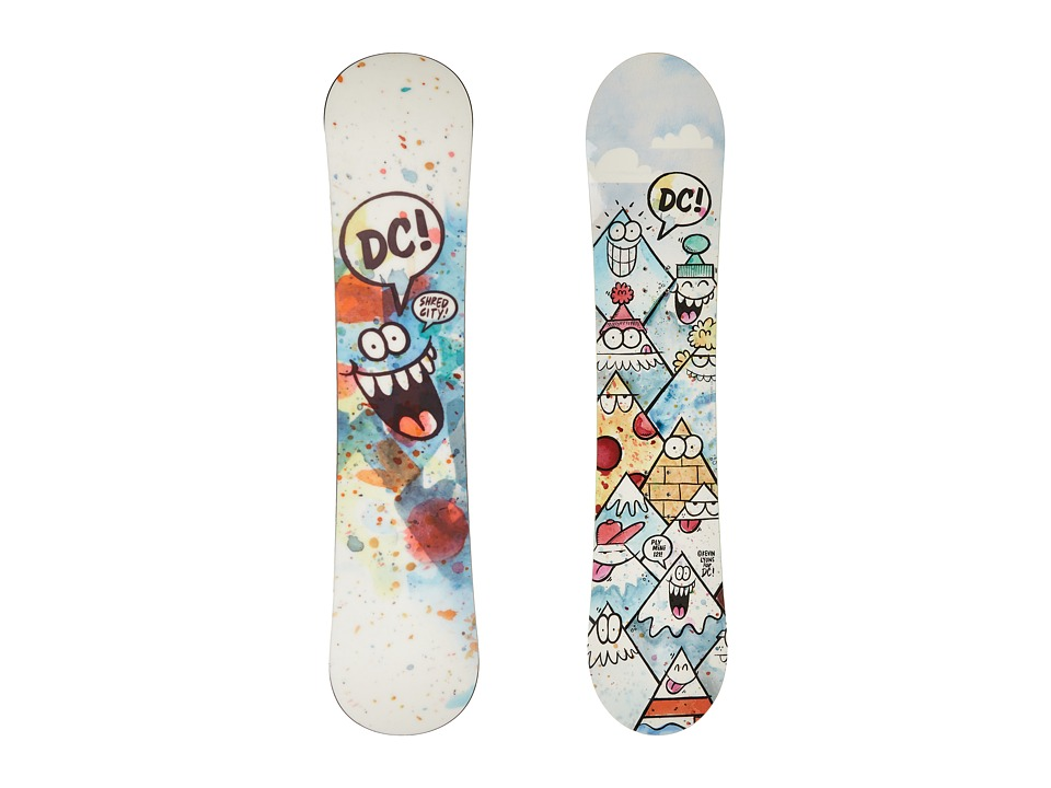 DC - Ply Mini '16 121cm (Multi) Snowboards Sports Equipment